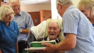 Frank turns 100 Years Old