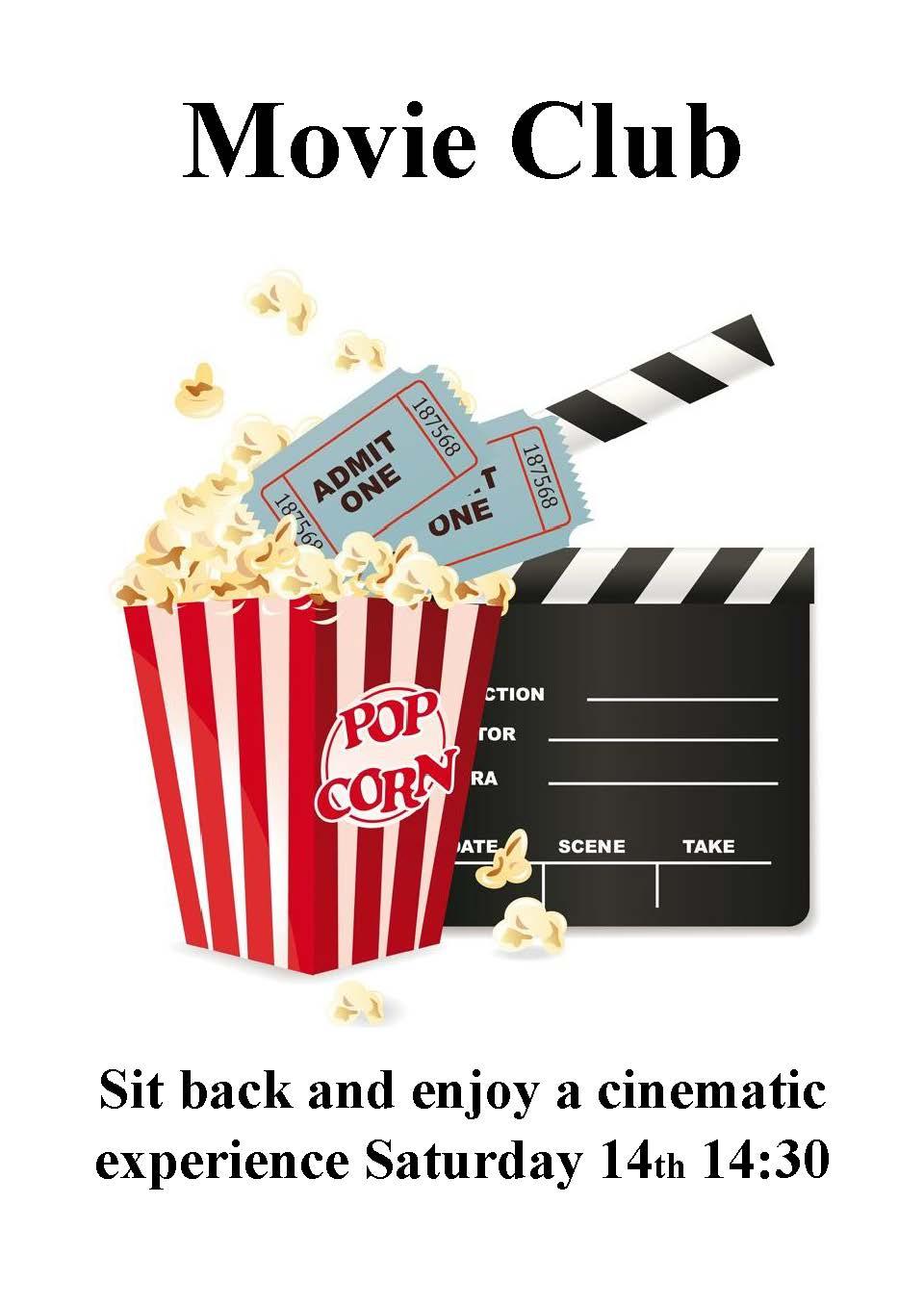 Movie club poster use