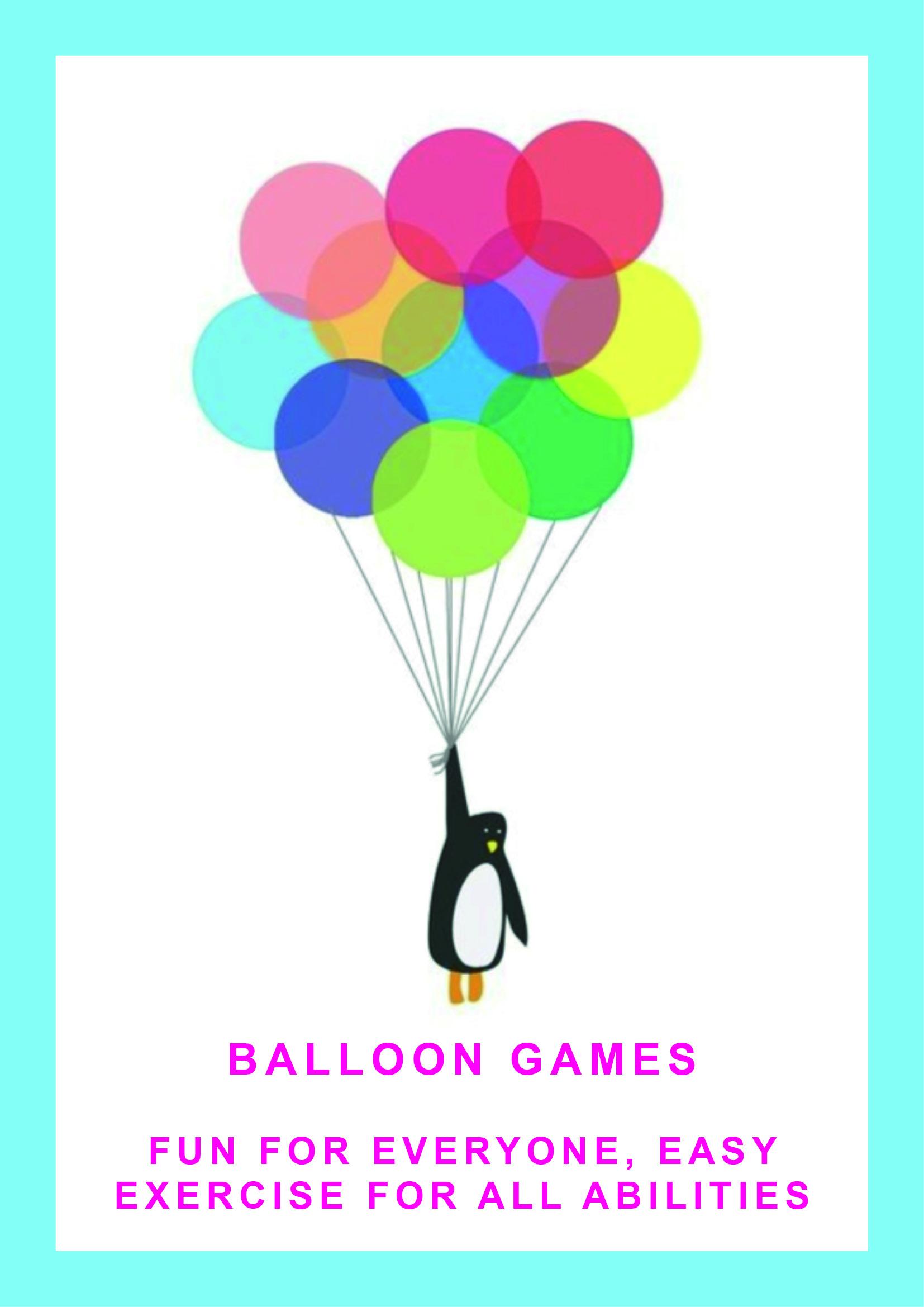 balloon games poster
